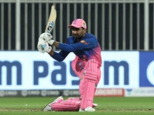 Rahul Tewatia scored match winning fifty against KXIP in IPL 2020