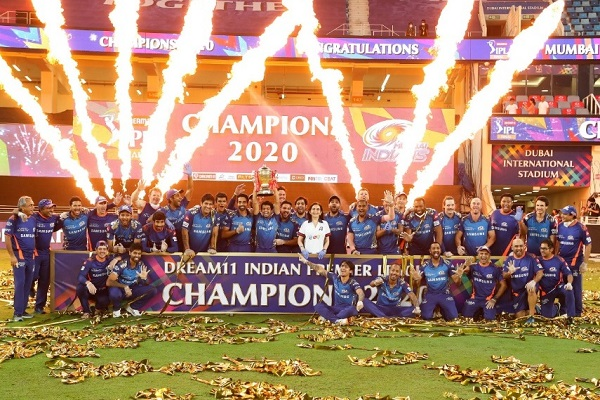 Mumbai Indians won IPL 2020