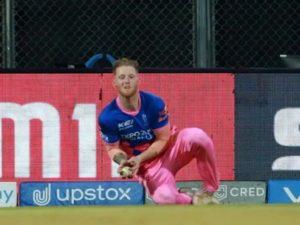 Ben Stokes injured during IPL 2021