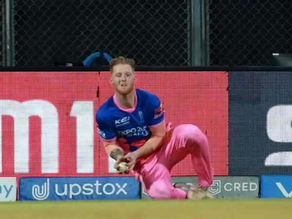Ben Stokes injured during IPL 2021