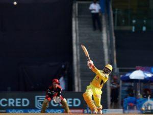 Ravindra Jadeja scored 37 runs in IPL 2021 match against RCB