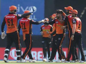 Sunrisers Hyderabad won against Punjab Kings in IPL-14