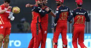 Chahal, Maxwell guide RCB to seal IPL 2021 playoff berth
